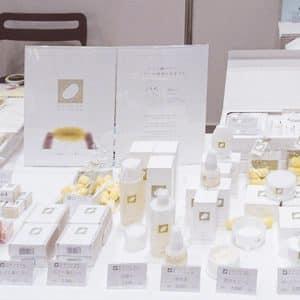 絹生活研究所の商品群