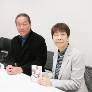 左:小説「あん」原作者 ドリアン助川さん 右:副社長