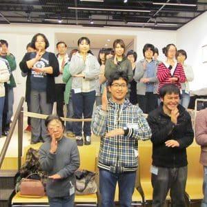 障害者委員会中心の手話ダンスで盛り上げます!