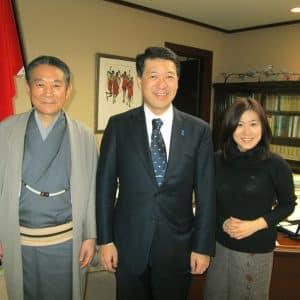 社長・泉田県知事・hiroeさん