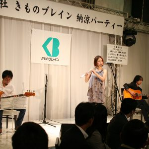笛人 本宮 宏美さんのコンサートでは映画「夢は牛のお医者さん」の曲も披露してくださいました。