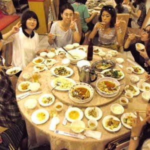 梅子餐庁で本格台湾料理に舌鼓を打ちました!テーブルが回ります!